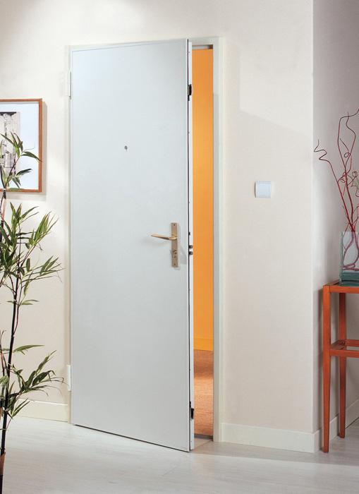 Porte blindée coupe feu appartement