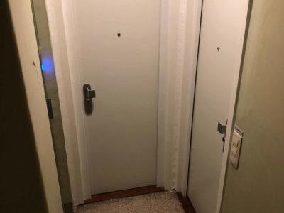 Porte double FICHET Sphéris S blanche
