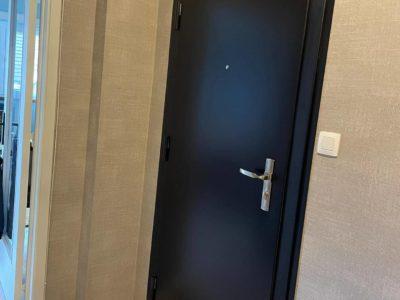 Porte FICHET Foxéo intérieur Noir
