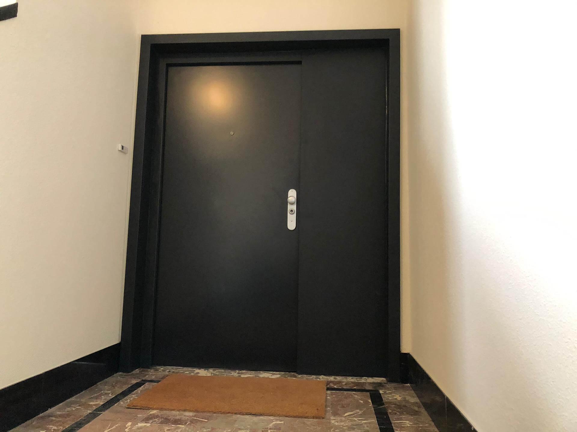 Porte FICHET Sphéris 7021 + imposte latérale